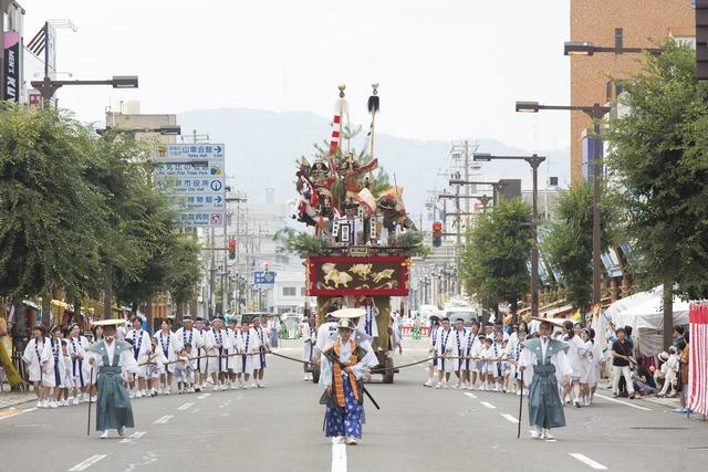 福井県敦賀市のお祭りの写真
